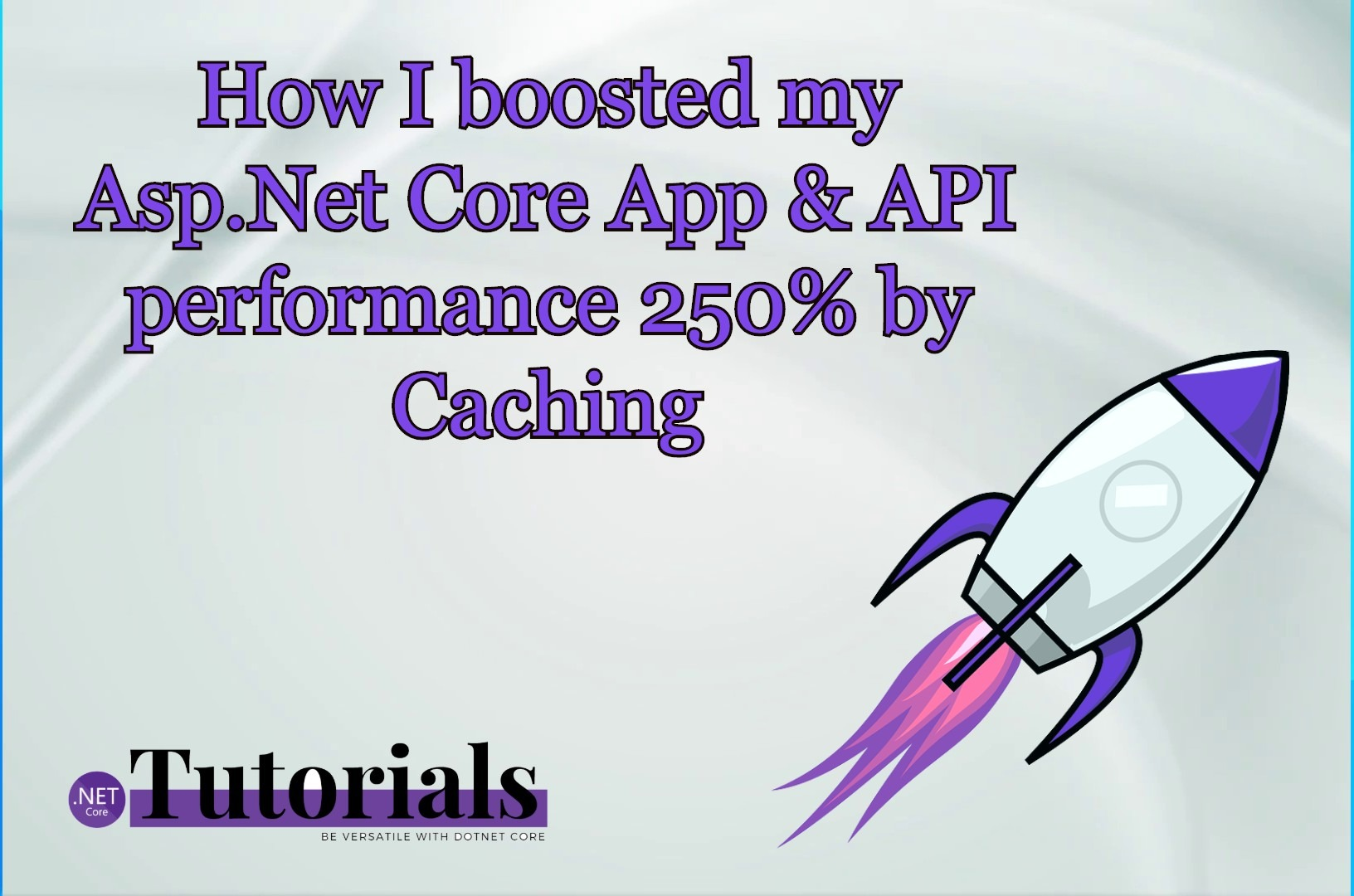 I boosted my Asp Net Core App & API performance 250% by Caching