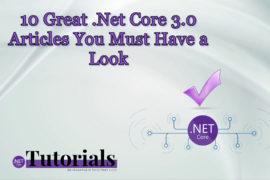 best .net core 3.0 articles
